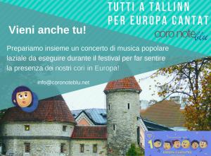 Progetto Tallinn - Europa Cantat 2018